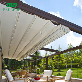 building sunshade aluminum door awning retractable awning, View retractable  awning, BLD Product Details from Ballede (Shanghai) Metal Products Co ,