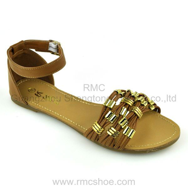 RMC stylish ankle strap lady shoes chappal