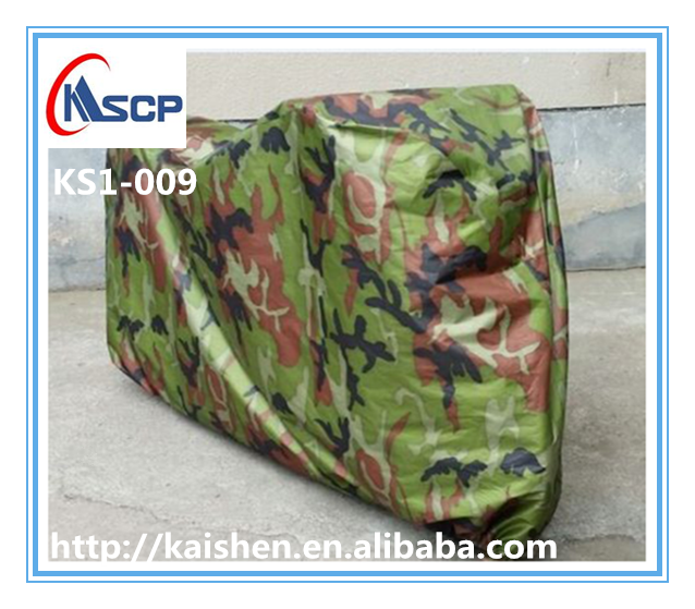 Bicycle acessories 190T waterproof bicycle cover camouflage rain dust cover outdoor bike cover