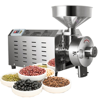 Automatic mung bean mini hammer flour mill