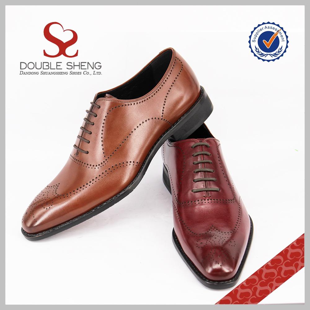 shoes shoes Men fashion classic oxford wingtip 2017 leather dress flats 68wCqS
