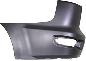 Crash Parts Plus Rear, Driver Side Bumper End for 10-13 Mitsubishi Outlander MI1104114, MI1116101