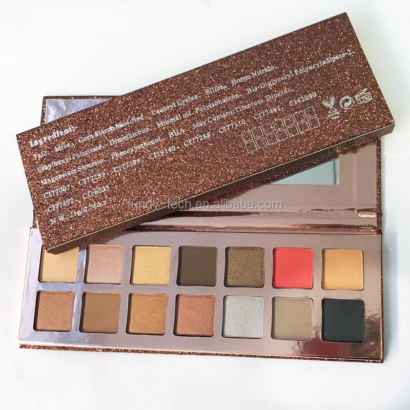 Maquiagem Multi Colorido Logotipo Personalizado Pan 35 Cores Da Paleta Da Sombra Da Sombra de Olho