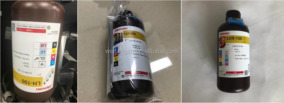 1000ml Mimaki LUS-175 LED UV 잉크 UCJV150-160/ UCJV300-160