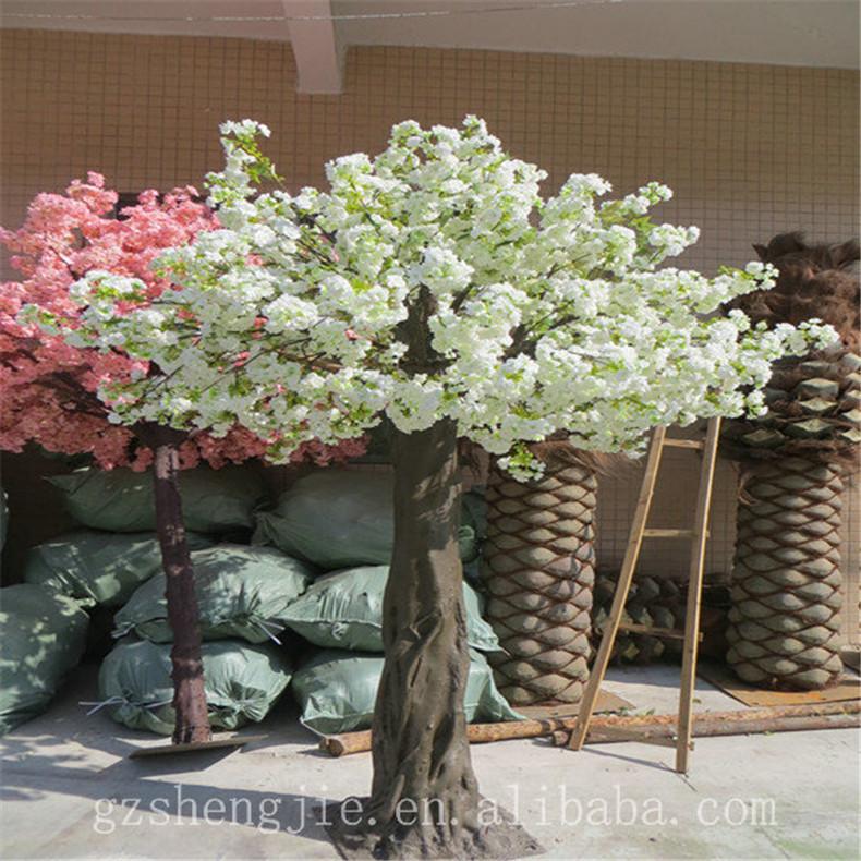 SJZJN 2680 Indoor Decorated Flower Arch For Wedding Garden Artificial Cherry Blossom Tree