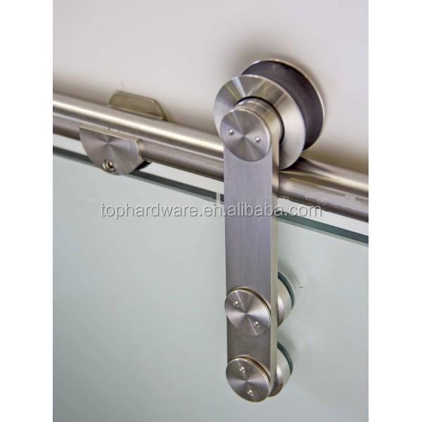 Puerta corredera colgando poleas carril de deslizamiento de la rueda puerta puerta corredera - Carril puerta corredera ...