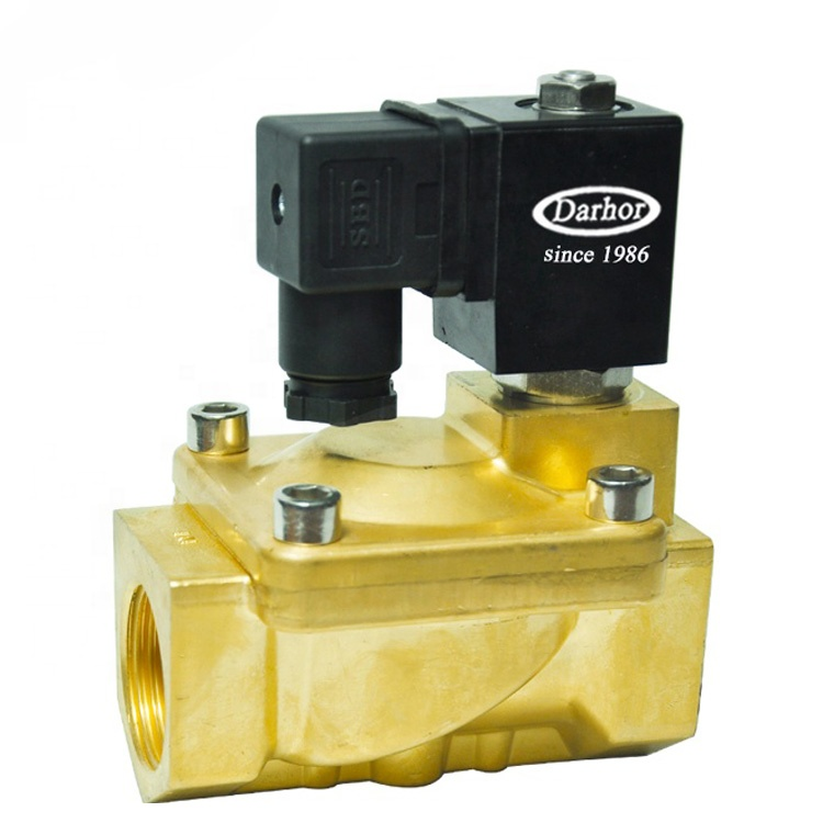 DHD31 high quality brass 3/4 inch DN20 solenoid <strong>valve</strong> for water