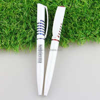 two tones promotional plastic ball pens