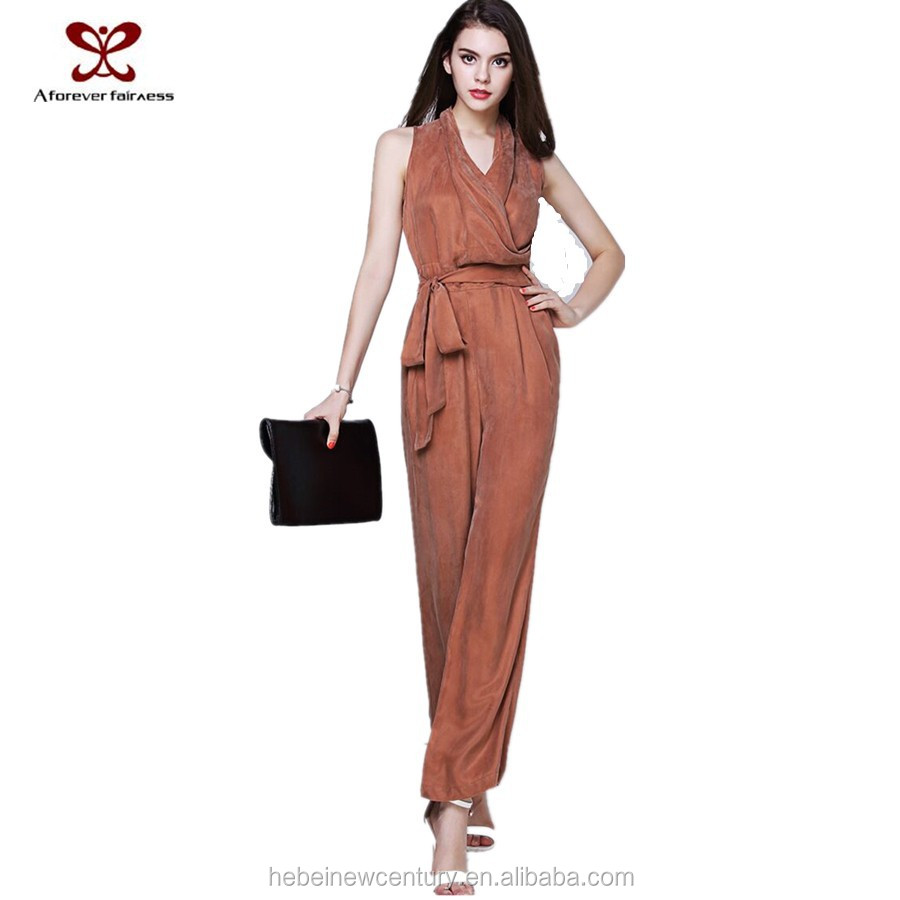 Dress for women Europe America 2015 hot selling clothes cuprammonium yarn jumpsuits agent European jumpsuits fashion dress