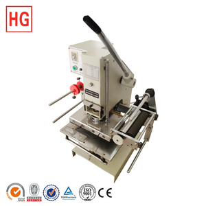 Manual hot stamping machine&Foil printing and gilding press machine for wood and A4 paper