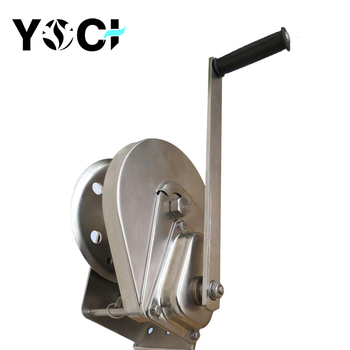 Yoci Hand Crank Stainless Steel Winch With Automatic Brake 500 Lb - Buy  Stainless Steel Winch,Hand Crank Winch With Automatic Brake,500 Lb Hand  Winch