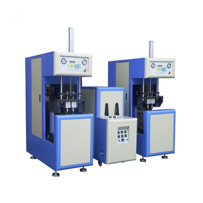 Semi-automatic Stretch PET PC PE Plastic Bottle Blow Molding Machine/ Milk Oil Water bottle Blowing Machine