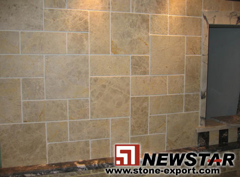 Cream Marble Wall Tiles For Kitchen   Buy Marble Wall Tiles For Kitchen,Mushroom  Marble Wall,Marble Wall Cladding Product On Alibaba.com