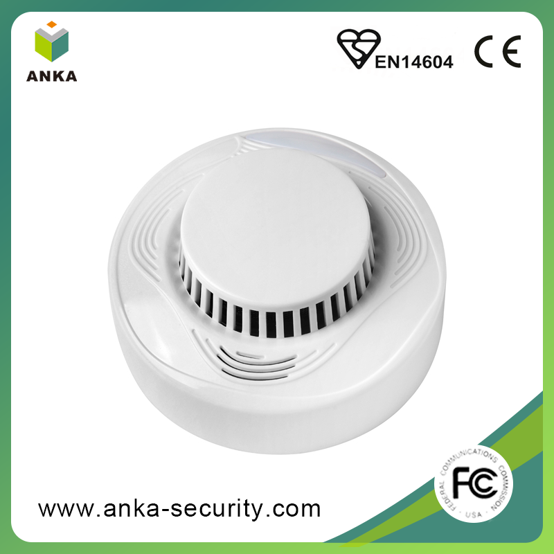 Free sample DC3V battery stand alone smoke detector For fire alarm