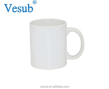 Promotional CE SGS Approved Custom Printed Grade AA 11oz White Orca Coatings Sublimation Ceramic Coffee Mug With White Box
