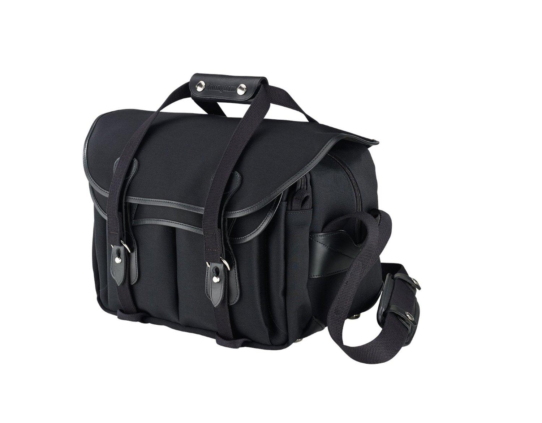 Billingham 335 Camera Bag (Black w/ Black Trim)
