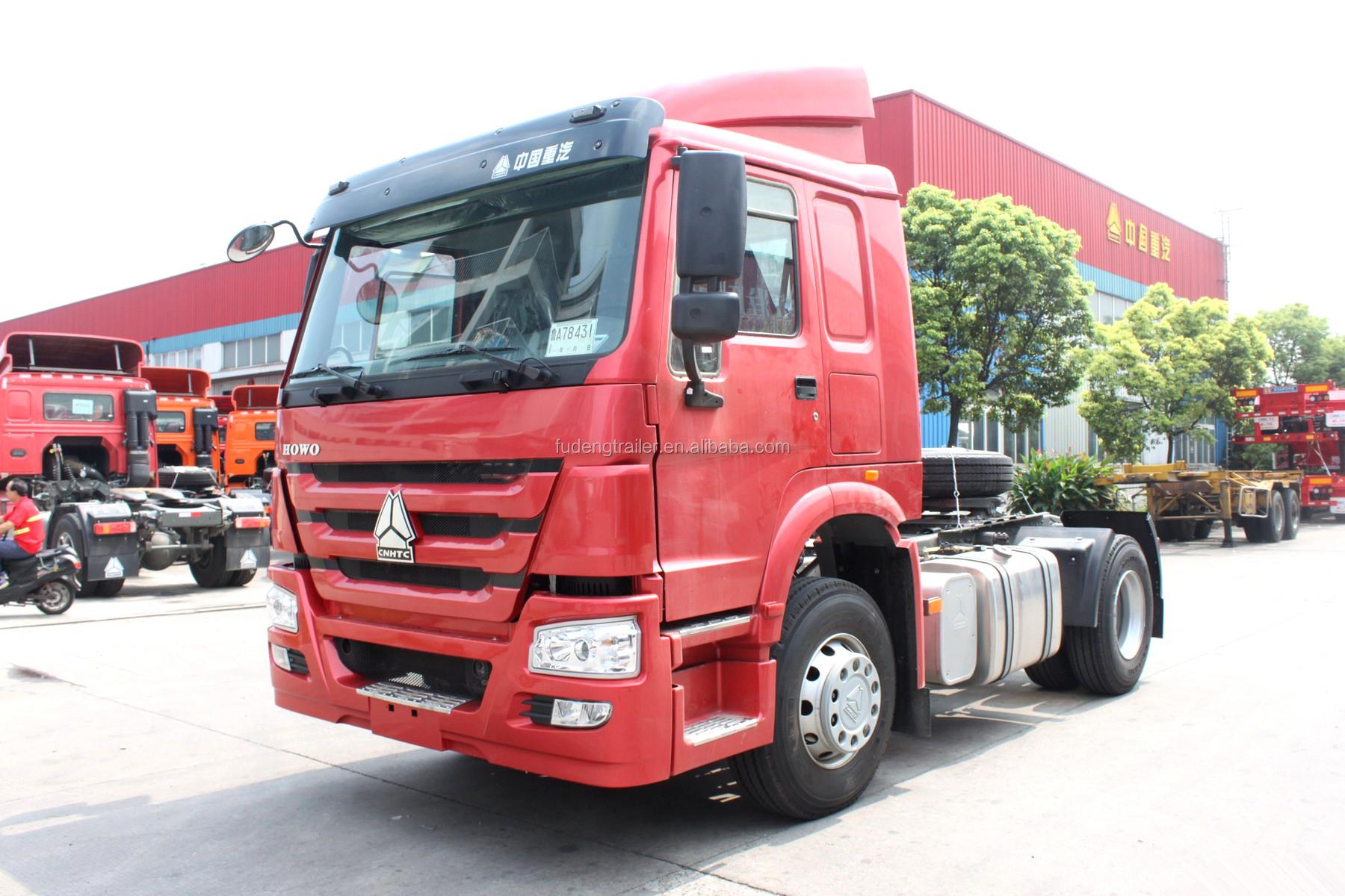 Goede prijs Howo 420 paard power truck hoofd te koop