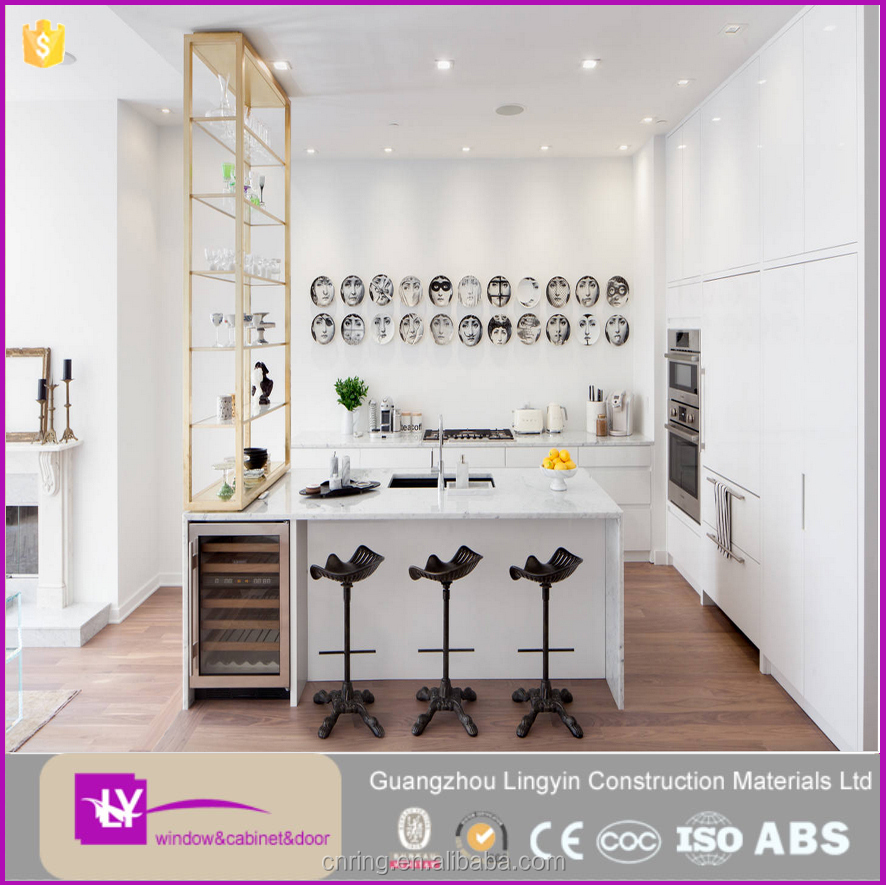 Eenvoudige ontwerp open stijl keuken meubels keukenkast voor ...