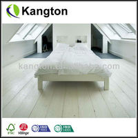 Wide plank european oak solid wood flooring