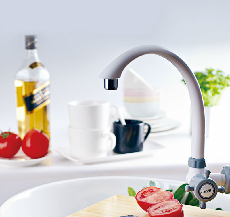 Omco/skt/onda Plastic Sink Tap Abs Swinging Faucet Bibcock For ...