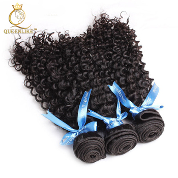 remy 100% unprocessed wholesale brazilian kinky curly hair weaves