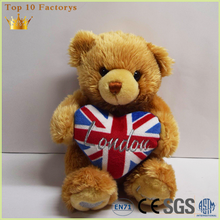 UK Valentine soft plush custom unstuffed teddy bear skins wholesale