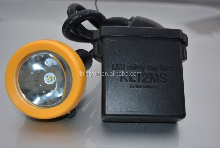 KL12MS LED miner cap lamp miner helmet lamp
