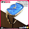 Factory direct sale metal bag hook for purse accessory