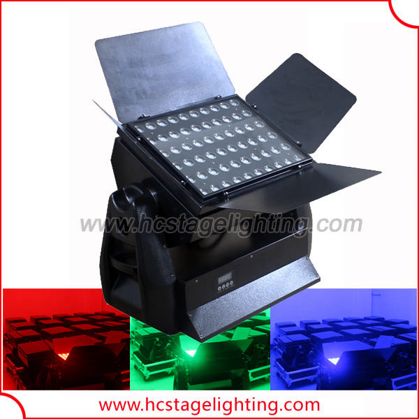 hight power night club 60*15W led rgb wall washer