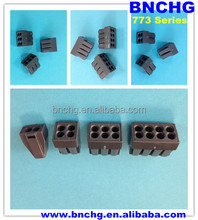 ce listed dark black wago 8-conductor terminal block with conductive paste factory directly
