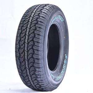All terrain tire wholesale radial white letter tyre 4x4 car tire 245/70R16