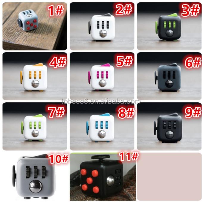 Tobeco Mini Desk Toy Magic Cube High Quality Fidget Cube Stuffed ...