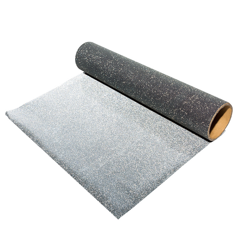 China Wholesale <strong>Black</strong> Heat Transfer <strong>Glitter</strong> Iron On <strong>Vinyl</strong> Rolls