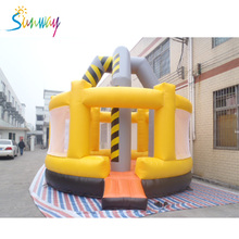 Factory High Quality Inflatable Yellow Mini Bouncer Sports Outdoor Inflatable Games for Sale