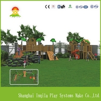 Design new products wooden outdoor playground for sale uk