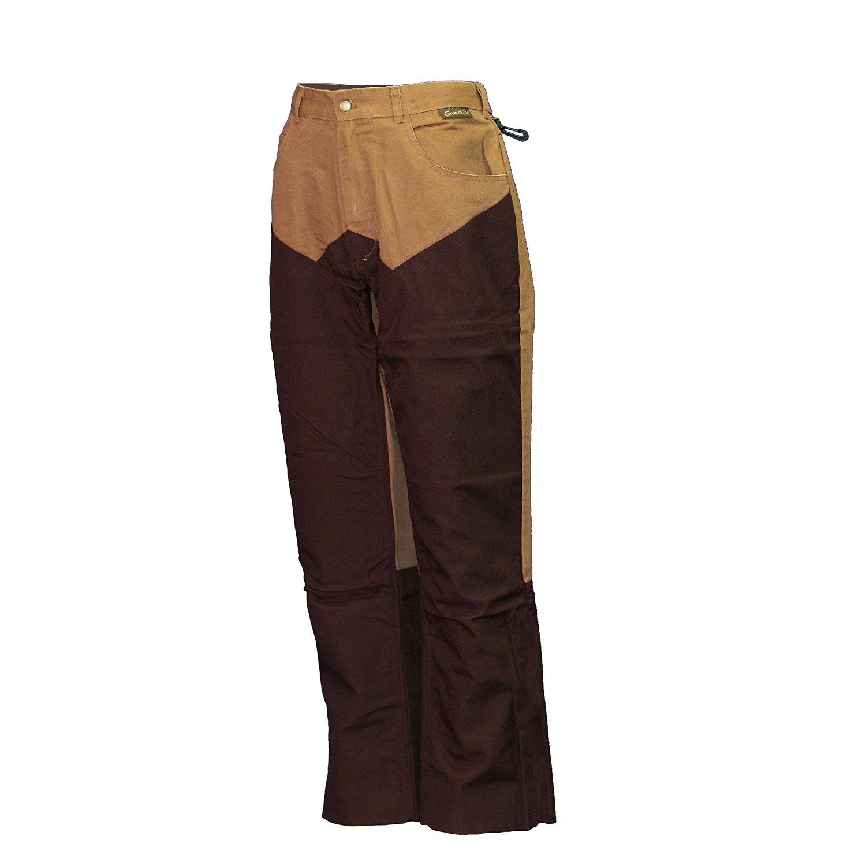 511431570a8ea Get Quotations · Men's Gamehide Briar-Proof Upland Pants, Dark Brown, 42  Regular