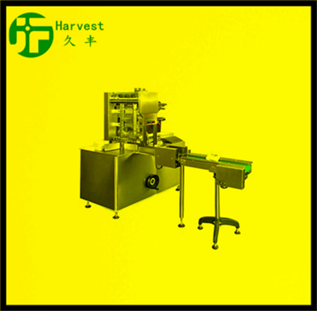 SQUARE-TYPE CHOCOLATE FOLDING PACKAGER