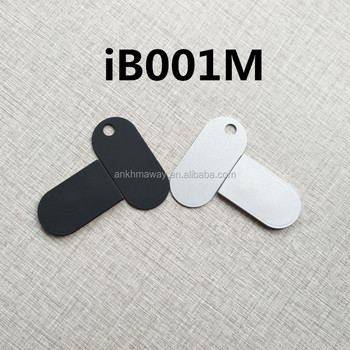 Ultra Thin Ble Accelerometer Sensor Programmable Button iBeacon