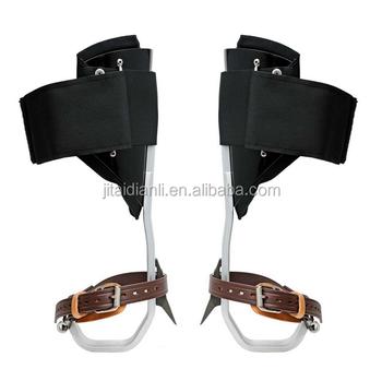 Holz Pol Klettererklettern Spikesklettern Schuhe Buy Schuhe Climing,Leder Baumklettern Spikes,Holz Pol Kletterer Product on