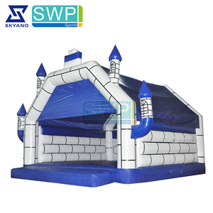 Commercial used bouncer castle inflatable / jumping castle with air blower