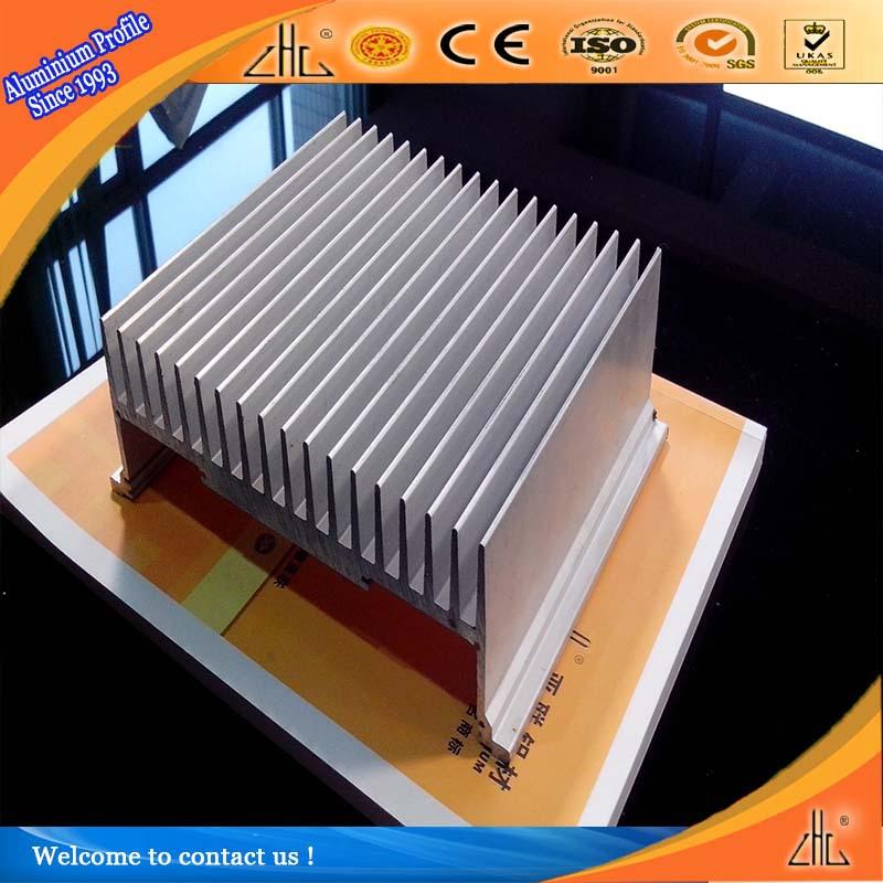 6063 T5 / 6061 T6 Extruded Aluminum Heatsink / Heat Sink Aluminium ...