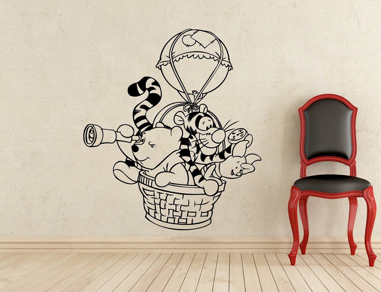 Buy Winnie The Pooh Wall Decal Hot Air Balloon Winnie Pooh Bear