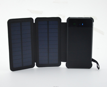 100% Full Charging by Sunlight Foldable Mini Solar Power Bank Portable Charger 20000 mah waterproof Solar Power Bank 8000mah