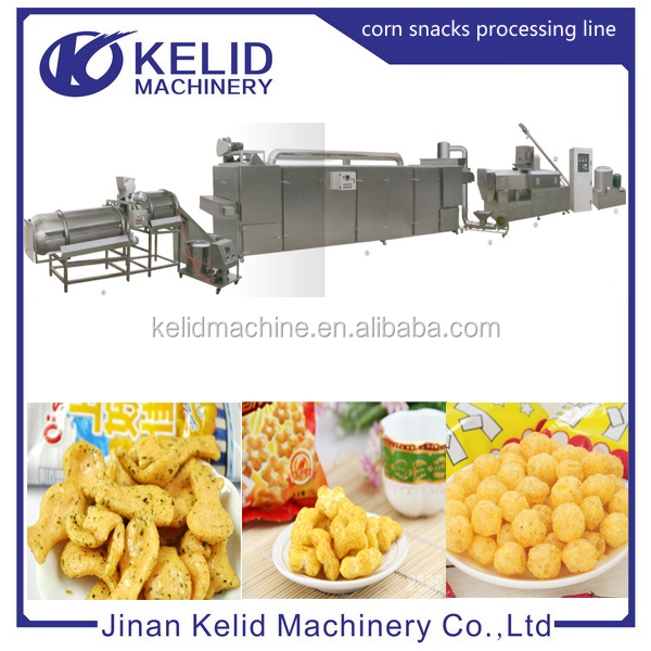 Fully Automatic Snack Food Plant