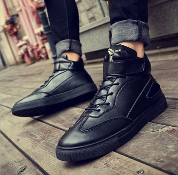 Zm21718a Italy Style Men Fashion Casual Shoes Wholesale Men Winter Boots  Shoes , Buy Italy Men Casual Shoes,Winter Shoes Men,Fashion Boots For Men
