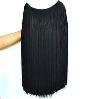 Very Smooth 50CM Nylon Fringe tassel for Dress Decoration