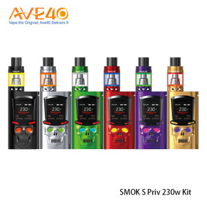 100% orignal and wholesales SMOK 230W Mod Vape kit Vape From AVE40