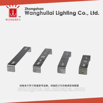 Customized Iron Light Fixture Mounting Bracket