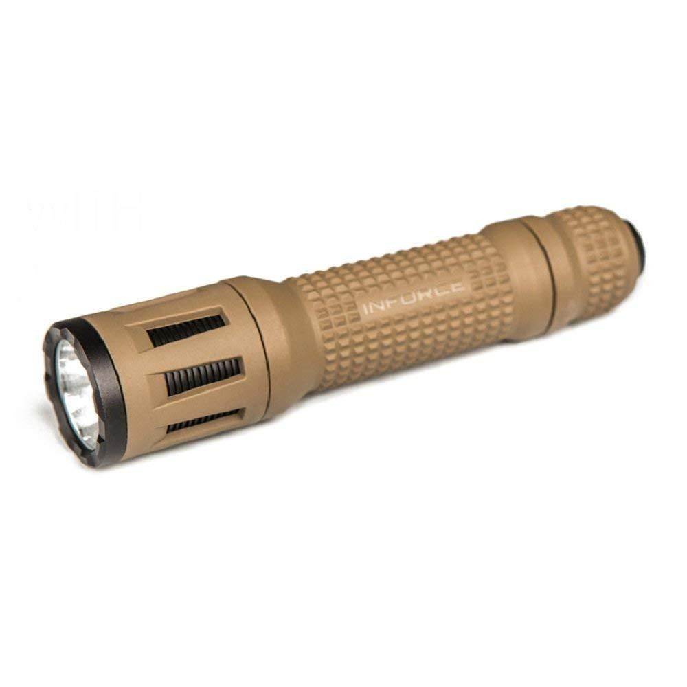 Desert Sand BODY INFORCE 9VX LED FLASHLIGHT