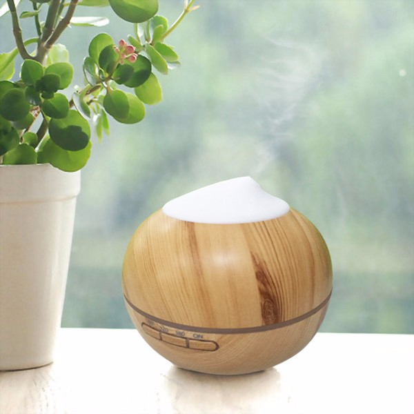 Christmas gift idea old tree wood design essential oil aroma diffuser wooden grain PP humidifier